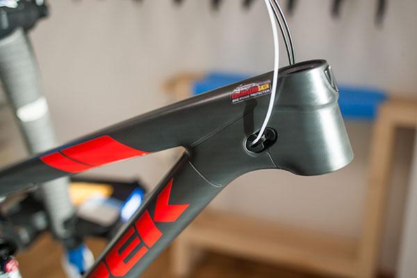 Chameleon Skin - bicycle frame protection- bike frame protection